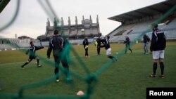 Stadiumi në Prishtinë, foto nga arkivi