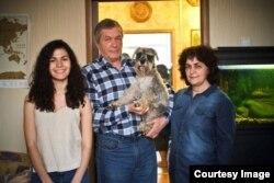 Дарья Ильяшенко с родителями