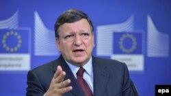 Баррозу говорить про Україну, 20 лютого