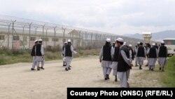 زندانیان رها شده طالبان