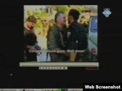Snimak Mladića prikazan u sudnici 7. veljače 2012.