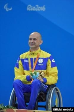 Геннадій Бойко на Параолімпійських іграх в Ріо став дворазовим чемпіоном (фото прес-служби НКСІУ)