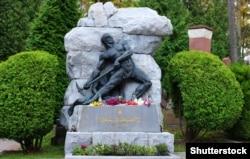 Могила Івана Франка на Личаківському кладовищі у Львові (1856–1916 роки)
