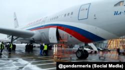 """Ил-96 специального правительственного летного отряда """"Россия"""""""