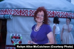 Robyn Alice McCutcheon in Kazakhstan