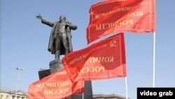 Leninin S. Peterbuqdakı heykəli