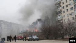 Mariupol, 24 ianuarie 2015.