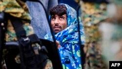 Этот снимок сделан на днях в Македонии – одной из стран, через которые в ЕС прибывают беженцы