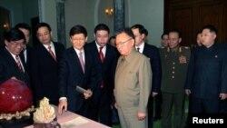 Лидерот на Северна Кореја Ким Јонг-ил