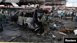Սիրիա - Պայթյունի հետևանքները Ջաբլա քաղաքում, 23-ը մայիսի, 2016թ․