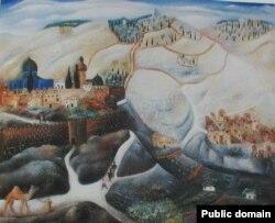 Рэўвэн Рубін, «Ерусалім», 1925