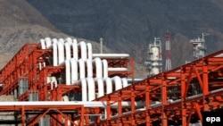 Нефтегазовое месторождение Южный Парс в Иране.