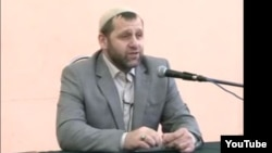Ingushetian imam Khamzat Chumakov gives a sermon in Rostov-on-Don in May 2012.