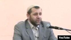 Ингушский имам Хамзат Чумаков на проповеди в российском городе Ростове-на-Дону.
