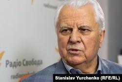 Перший президент України Леонід Кравчук у студії Радіо Свобода, Київ, 2015 рік
