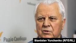 Леонід Кравчук, перший президент незалежної України, у студії Радіо Свобода