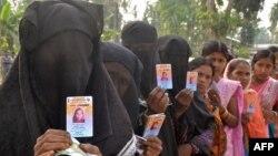 Гласање во државата Асам во Индија.