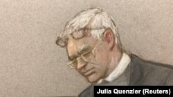 Жулиан Ассанж Лондондогу сотто. 24-февраль, 2020-жыл.