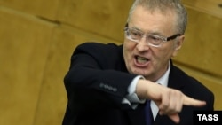 Ресей мемлекеттік думасы төрағасының орынбасары, ЛДПР партиясының жетекшісі Владимир Жириновский.
