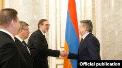 Երևան, 7-ը փետրվարի, 2018 թ․, պաշտոնական