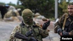 Proruski militanti u Donjecku, ilustrativna fotografija