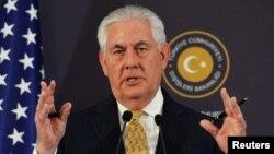 Birleşen Ştatlaryň döwlet sekretary Reks Tillerson