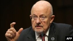 U.S. -- Director of National Intelligence James Clapper testifies during a hearing before Senate (Select) Intelligence Committee January 29, 2014 on Capitol Hill in Washington.
