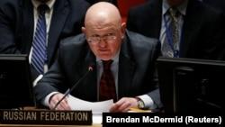 Василий Небензя, постоянный представитель России при ООН