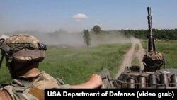 Під час одних із міжнародних навчань із участю українських військових, ілюстраційне фото
