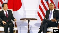 Američki predsjednik Barack Obama i japanski premijer Naoto Kan, 2010.