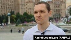 Доброволець з Росії та колишній боєць полку «Азов» Артем Широбоков