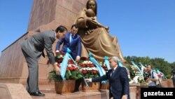 Початок урочистостей з нагоди Дня незалежності Узбекистану, Ташкент, 31 серпня 2016 року