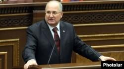 Председатель Национального Собрания Армении Самвел Никоян