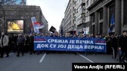 Na godišnjicu od početka bombardovanja mitinzi i protesti u Beogradu