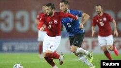 В заключительном матче Лиги наций грузинские футболисты сыграли вничью со сборной Эстонии