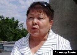 Фатима Касенова, руководитель восточноказахстанского филиала оппозиционной партии «Алга».