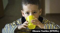 Мальчик из детского дома № 19 в Москве