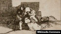 Франсыска Гоя, Сэрыя «Жахі грамадзянскай вайны» (52: Яны не пасьпяваюць).