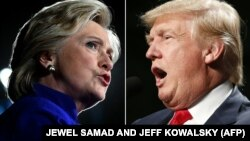 H.Clinton|D.Trump