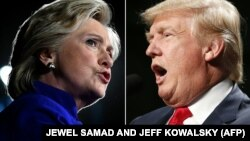 H.Clinton\D.Trump