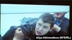 Vladislav Chelakh, who was convicted of the killings, is seen in a video still during a court appearance in December.
