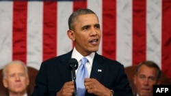 U.S. President Barack Obama threatened to veto fresh sanctions on Iran during his State of the Union address on January 28.