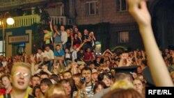 Рок-концерт із нагоди 1020-ї річниці Хрещення Київської Русі, Хрещатик, Київ, 26 липня 2008