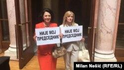 Poslanice Sanda Rašković Ivić i Dijana Vukomanović