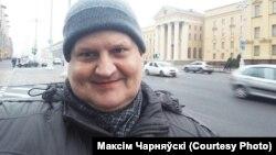 Журналіст Уладзімір Чудзянцоў, архіўнае фота