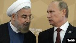 Ռուսաստանի նախագահ Վլադիմիր Պուտինն ու Իրանի նախագահ Հասան Ռոհանին, արխիվ