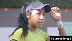 Қазақстандық теннисші Зарина Дияс.