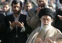 President Ahmadinejad (left) has led the Islamic republic in an increasingly conservative direction (file photo) (AFP)