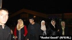 Протерување таџикистански мигранти од Москва.