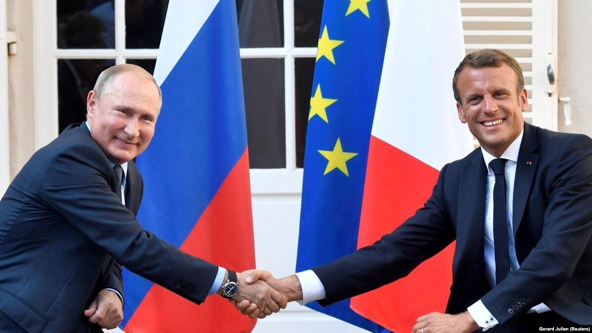 Макрон хочет вести «стратегический диалог» с Россией и остановить расширение ЕС